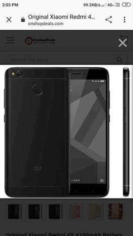 Redmi 4 X with neat condition