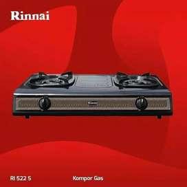 Rinnai RI-522S Batik Design warna hitam