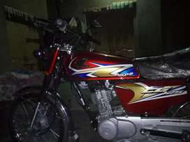 Good condition and red colour new model