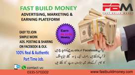 Part time job for all peoples who want to eran money