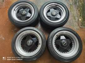 Borbet alloy wheels 4 holes 100