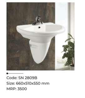 Barnded sanitary ware from snydo.