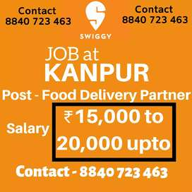 Job At Swiggy Delivery partners