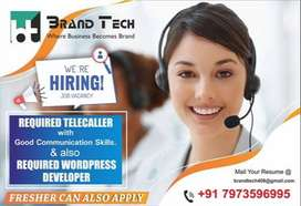 Front Office Executive and Telecaller