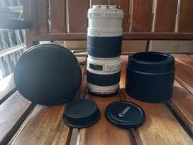 Canon L 70-200 F4. Kode UD terbaru. Mulus kyk baru