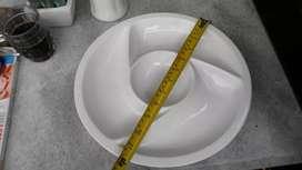 Legacy piring lauk atau snacks diameter 30 cm
