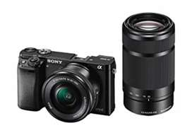Sony a6000 camera with bill and no single defect in product