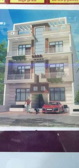 MDA Approved 3 Bhk Builder Floor in Dwarika puri Delhi Road Meerut