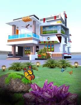 Professional Civil interior and exterior design- freelancer