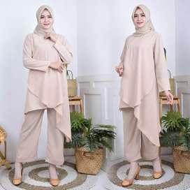 Gamis / stelan / baju kantor / abaya