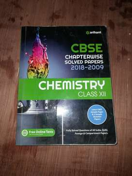Arihant chemistry class 12 solved papers
