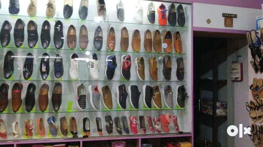Furnished footwear showroom for sale