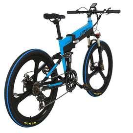 Lankeleisi XT750 Sepeda Elektrik Lipat Smart Moped 48V 10.4AH NEW