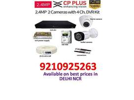 Cctv camera on wholesale price cp plus and hikvision all over delhi