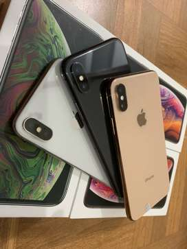 Iphone XS 256GB ,Silver Grey 99%Mulus original pastinya