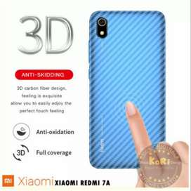 Garskin HP Karbon Backdoor Anti Jamur Xiaomi Redmi  7A