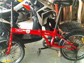 Sepeda lipat laux 20 in