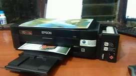 Printer epson l 110 normal.  Hasil bagus