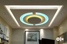 All types of interior false ceiling  works