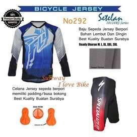 AF140 Harga Promo Setelan Baju Dan Celana Sepeda Gratis Onkir Dan Baya
