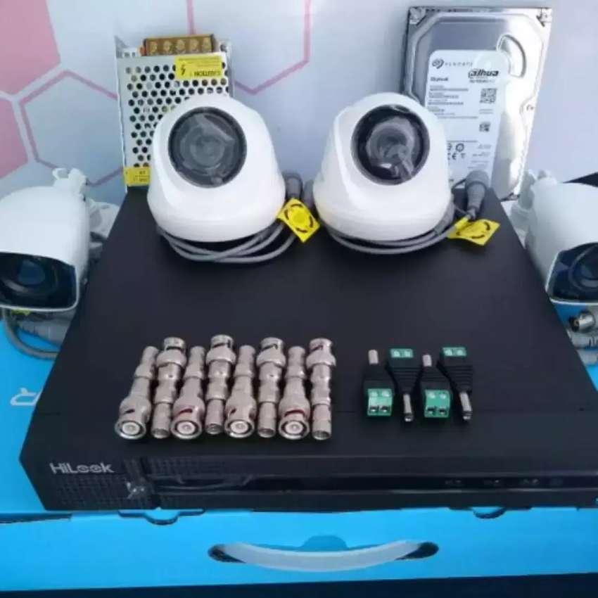 paket CCTV Dahua 4 Camera 2 MP lengkap + bonus FREE jasa instalasi 0