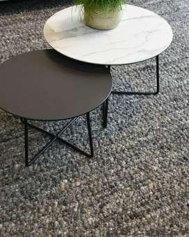 Meja bulat/meja cafe/meja tamu/meja teras/meja kerja