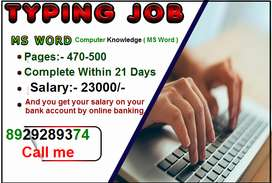 Earn Rs.23000 pr assignment from Home - Work from Home
