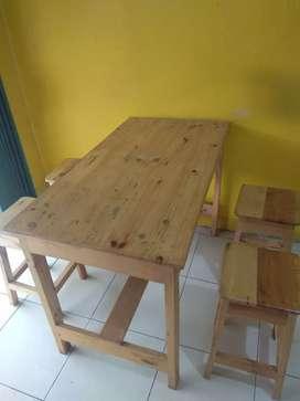 Jual meja set untuk usaha kuliner