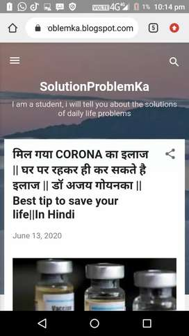 Solution of everything or daily life problems