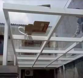 Kanopi atap kaca#99