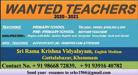 Wanted teachers
