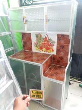 Rak piring keramik pintu 3 ready Aladin sidoarjo 2510