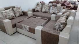 7 seater sofa + table(Emi available)
