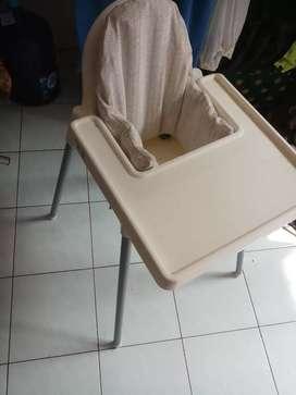 Kursi makan bayi. Baby chair dan bantalan duduk IKEA MURAH