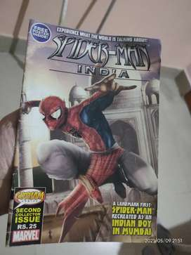 Spiderman India 2005 edition..(collector's item)