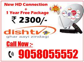 Upto 90% Off On Dishtv - Tata sky 1 Year Pack Tatasky, Airtel, New HD!
