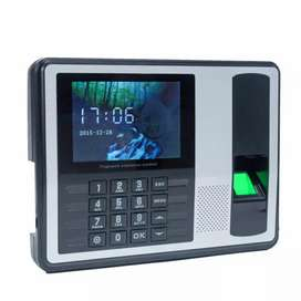 Biometric fingerprint time attendance machine with software