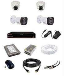 4CH HD CCTV setup installation-