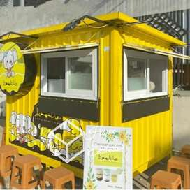 BIG PROMO TAHUN BARU - BOOTH CONTAINER CUSTOM - TENANT MALL