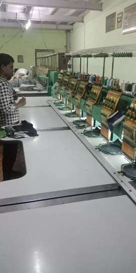 Computer embroidery machines total 2 machine 3 lakhs