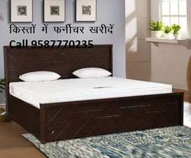 Super Offer Double bed With Box 7000/- only, Factory Open