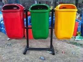 tong sampah oval 3pila,bak sampah oval,tempat sampah murah ready stok