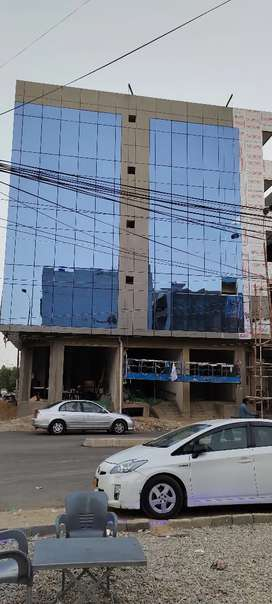 DHA phase 6, brand new office 60 fit road 1st floor for sale