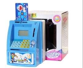 Celengan Dora Emon Nobita Sizuka Suneo Giant ATM Bank Mainan Doraemon
