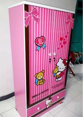 Lemari Pakaian Hello Kitty WD-HK1601-BF Product By Kea Panel