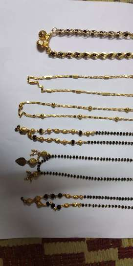 Artificial gold jewellery.. colour guarantee