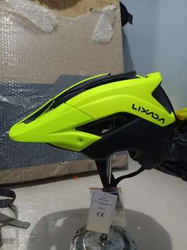 Helm sepeda Lixada Enduro xc am yellow black (barang baru)