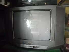 tv sharp 21in mulus gambar jos