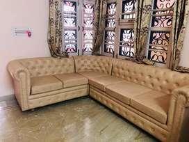 Corner L-shaped chester Sofa