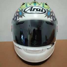 Arai RX7 RR5 Russel White